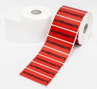 Impressão de etiquetas térmicas