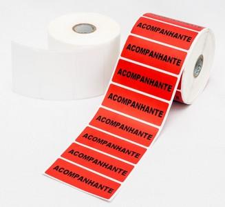 Locação de impressora de etiquetas