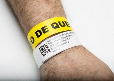 Pulseira de identificação medica