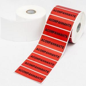 Etiquetas térmicas autoadesivas
