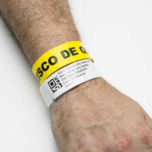 Pulseira de identificação de paciente onde comprar